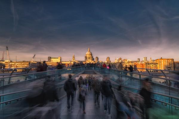 Londres – Millenium Bridge